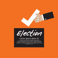 Vote for election vector illustration concept eps Royalty Free Stock Images
