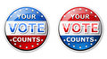 Vote icon Royalty Free Stock Photo