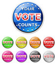 Vote icon Royalty Free Stock Images
