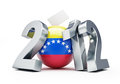 Vote Venezuela 2012 Royalty Free Stock Photography