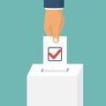 Voting, election concept.