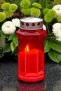 Votive candle Royalty Free Stock Photos