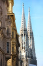 Votivkirche in Vienna, Austria Royalty Free Stock Photo