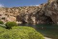 Vouliagmeni lago termal water mineral de radonic cerca de athen foto de grecia Foto de archivo libre de regalías