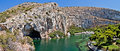Vouliagmeni   Thermal Lake, Athen, Greece Stock Photos