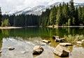 Vrbicke lake in Tatra mountains. Slovakia