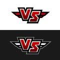 VS Logo. Versus symbol.