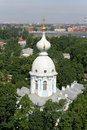 Vue Bird's-eye de St Petersburg Photo libre de droits