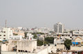 Vue d une colline au centre de hyderabad andhra pradesh inde Photo stock