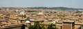Vue de panorama Rome Photos stock