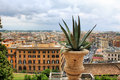 Vue de Rome Photo stock