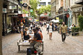 Vulcan lane auckland s trendy lined with shops cafes and restaurants a great spot for people watching Stock Images
