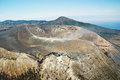 Vulcano aerial view of eolien sicily Royalty Free Stock Photography