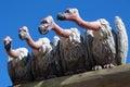 Nasty vultures sculpture