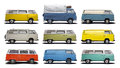 VW Vans T2 Royalty Free Stock Photo