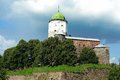 Vyborg castle located city vyborg castle island Royalty Free Stock Photography