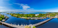 Vyborg city panorama on the sunny day russia Stock Image