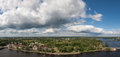 Vyborg and neighborhood Stock Photography