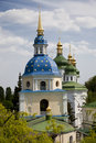 Vydubitskiy monastery in Kiev. Ukraine Royalty Free Stock Photo