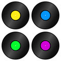 Vynil recors Royalty Free Stock Photo
