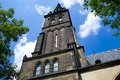 Vysehrad prague church of st peter and paul in Royalty Free Stock Image