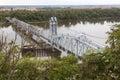 Wabash Bridge At Hannibal, Mis...