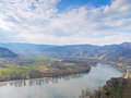 Wachau the is a part of the danube valley the photo was taken in duernstein lower austria Royalty Free Stock Photography