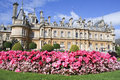 Waddesdon manor country house buckinghamshire uk Royalty Free Stock Images