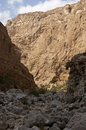 Wadi Shab, Sultanate of Oman Royalty Free Stock Photo