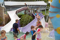 Wading Pool Royalty Free Stock Images