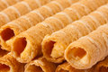 Wafer rolls Royalty Free Stock Images