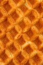Waffle background a close up of a as a Royalty Free Stock Images