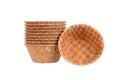 Waffle bowls Stock Images