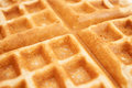Waffle a close up image of a Royalty Free Stock Photography
