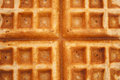 Waffle a close up image of a Royalty Free Stock Photos