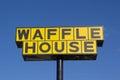 Waffle House Sign Royalty Free Stock Photo
