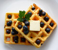 Waffles Royalty Free Stock Photo