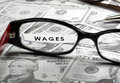 Wages Royalty Free Stock Photo