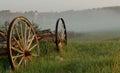Wagon and Farm, New Hampshire Royalty Free Stock Photo
