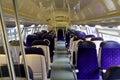 Wagon train interior Royalty Free Stock Photo