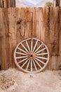 Wagon Wheel And Fence