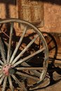 Wagon Wheel Royalty Free Stock Photo