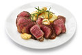 Wagyu beef steak Royalty Free Stock Photo