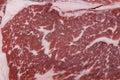 Wagyu beef steak marbling Royalty Free Stock Photo