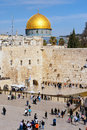 Wailing wall israel jerusalem jan jewish worshippers at the on jan jerusalem the is the most sacred site in judaism Royalty Free Stock Photos
