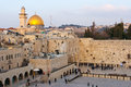 Wailing wall jerusalem israel january jewish worshipers pray at the january in israel the is the most sacred sites Stock Images