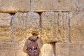 Wailing Wall Praying, Jerusalem Israel Royalty Free Stock Photo