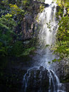 Wailua falls on the island of maui Royalty Free Stock Photography