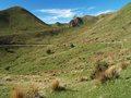 Waima river valley landscape new zealand Royalty Free Stock Images
