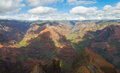 Waimea Canyon Stock Image
